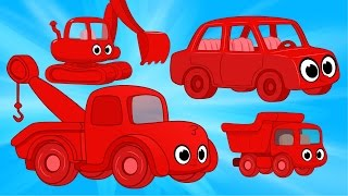 Download Morphle Vehicle Super Compilation - cars trucks and other excavators for kids Video