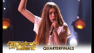 Download Courtney Hadwin: Shy British Schoolgirl With SHOCKING Talent WOWS! | America's Got Talent 2018 Video