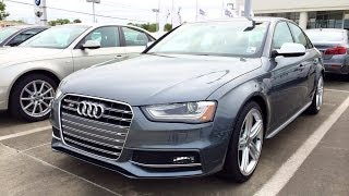 Download 2014 Audi S4 Quattro S Tronic Startup, Exhaust and In Depth Review Video