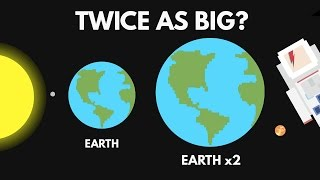 Download What If The Earth Were Twice As Big? Video