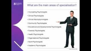 Download Careers in Psychology Video