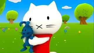 Download Musti 🐱 Mister Rabbit's nephews 😺 Cartoon for kids 😍 Kedoo ToonsTV Video