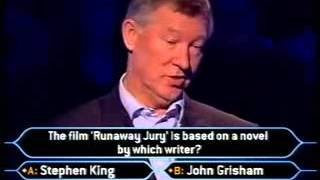 Download Sir Alex Ferguson on ″Who Wants to be a Millionaire?″ Video