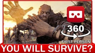 Download 360° VR VIDEO - Zombie Apocalypse in First Person   POV   Resident Evil 7   Survival Horror Video