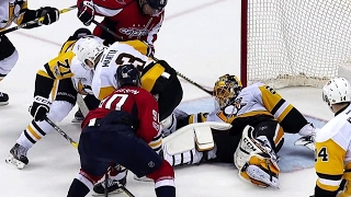 Download Mike Emrick finally catches breath after mad scramble in front of Fleury Video