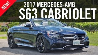 Download 2017 Mercedes-AMG S63 4MATIC Cabriolet Review Video