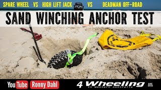 Download Sand Winching, best sand anchors off-road Video