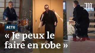 Download «Je peux le faire en robe » : des moines japonais protestent contre une amende Video