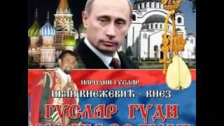 Download Narodni guslar Ivan Knežević-Guslar gudi Rusija se budi Video