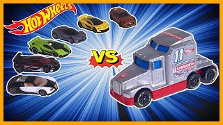 Download BIG RIG RACER vs 6 HYPER CAR EXOTICS Video