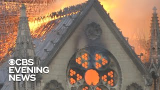 Download Notre Dame cathedral suffers extensive damage in massive blaze Video