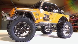 Download UNBOX & INSTALL 3.2″ DUB STYLE Wheels on the JK MAX from D1RC | RC ADVENTURES Video