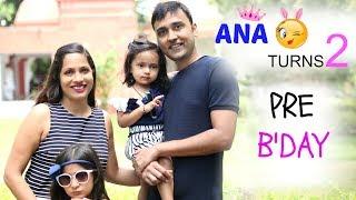Download Ana Turns 2 !! Pre-Birthday Preparations Vlog | ShrutiArjunAnand Video
