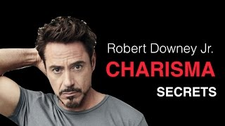 Download How To Be Charismatic With Women: Robert Downey Jr. Charisma Breakdown Video