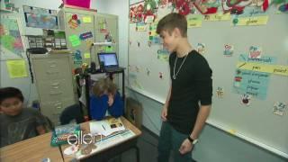 Download Justin Bieber Surprises a Classroom! Video