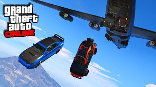 Download Furious 7 Plane Drop Scene! || GTA 5 Online || PC Video