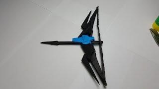 Download PAPER BUILD Origami Video [페이퍼빌드 ] 종이로 활 만드는 방법 영상 종이접기 Video