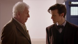 Download The Eleventh Doctor Meets The Curator (Tom Baker)   Doctor Who   The Day of the Doctor   BBC Video