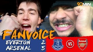 Download Everton 2-5 Arsenal | Arsenal come from behind to destroy Everton 2-5! | FanVoice Video
