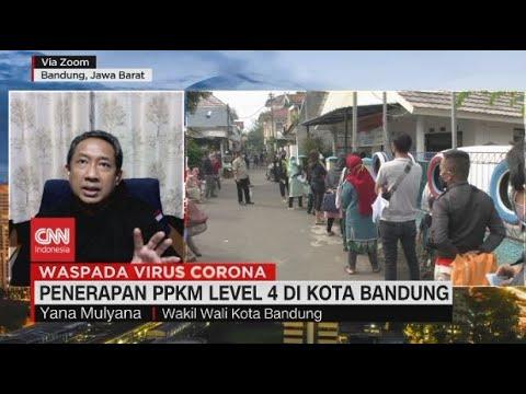 Penerapan PPKM Level 4 di Kota Bandung