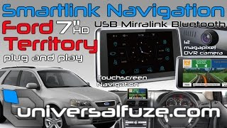 Download Ford Territory/Falcon 7″ Touchscreen Navigation upgrade DIY plug and play! Video