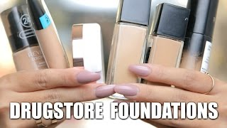 Download THE BEST DRUGSTORE FOUNDATIONS! Video