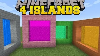 Download Minecraft: 4 ISLANDS! - THE 8 ISLANDS - Custom Map Video