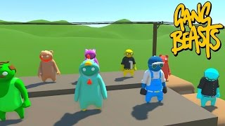 Download SO MANY PEOPLE! - GANG BEASTS ONLINE Video