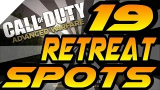 Download 19 Retreat Spots & Glitches! - Advanced Warfare (Jumps, Hiding & Infected Spots After Patch) Video