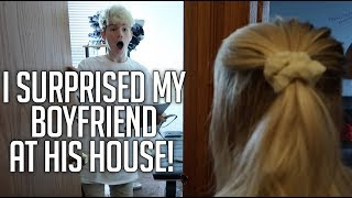 Download I SURPRISED MY BOYFRIEND AT HIS HOUSE! (LONG DISTANCE COUPLE) (SPEECHLESS REACTION) Video