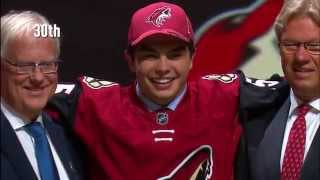 Download The first round of the 2015 NHL Draft in a minute Video