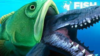 Download EATING THE MOSASAURUS WHOLE!!! - Fish Feed Grow Video
