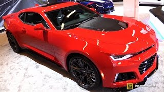 Download 2017 Chevrolet Camaro ZL1 - Exterior and Interior Walkaround - 2017 Montreal Auto Show Video