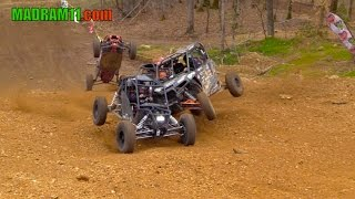 Download 4 WIDE UTV KNOCK OUT RACING IS ABSOLUTELY AWESOME Video
