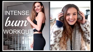 Download INTENSE BUM WORKOUT AND PACKING FOR ICELAND! | Niomi Smart Video