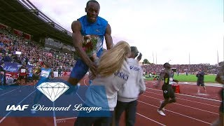 Download When Usain Bolt crashed into a flower girl in Oslo in 2012 - Flashback Video