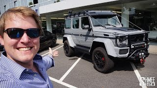 Download RIDICULOUS! The Brabus 550 Adventure 4x4^2 is a MONSTER Video