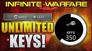 Download *NEW* UNLIMITED KEYS & SALVAGE GLITCH IN INFINITE WARFARE! KEY & SALVAGE GLITCH INFINITE WARFARE Video