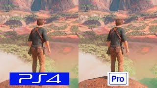 Download Uncharted 4 | PS4 VS PS4 PRO | GRAPHICS COMPARISON | Comparativa Video