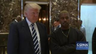 Download Kanye West and President-elect Donald Trump (C-SPAN) Video