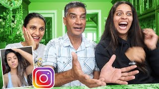 Download MY REAL PARENTS REACT TO MY INSTAGRAM PICTURES PT. 2 Video