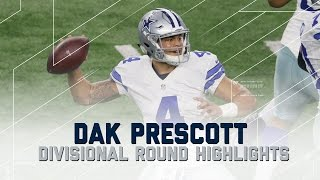 Download Dak Prescott's 302-Yard, 3 TD Playoff Debut | Packers vs. Cowboys | NFL Divisional Player Highlights Video