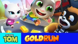 Download Talking Tom Gold Run – Friends vs. the Robber (Compilation) Video