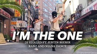 Download I'M THE ONE - DJ Khaled ft Justin Bieber Dance | Ranz and Niana Video
