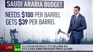 Download OPEC pump fiction: Ecuador sells oil for less that it costs to produce Video