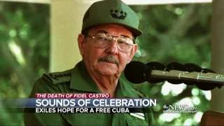 Download Cubans in Miami Celebrate Castro's Passing Video