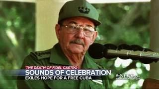Download Cubans in Miami Celebrate Castro's Passing Video