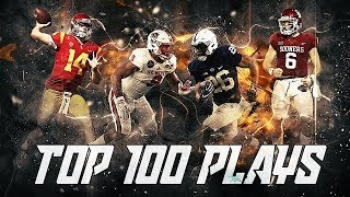 Download Top 100 Plays of the 2017-2018 College Football Season Video