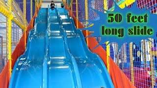 Download Indoor Playground Family Fun for Kids Play Center Slides Playroom with Balls | TheChildhoodLife Video