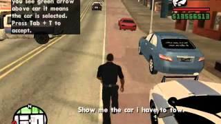 Download GTA SA: Camry Towed Awayقراند - دورية تسحب كامري مكتم و من دون لوح. Video